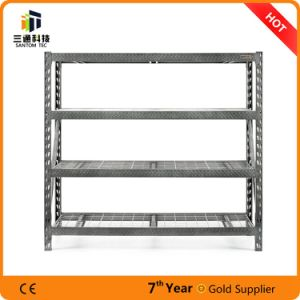 Powder Coated Steel Metal Racks, Steel Storage Shelf pictures & photos