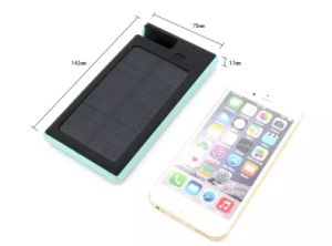 Solar Power Mobile Phone Stand Bank Charger with Company Patent pictures & photos