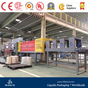 Automatic Beverage Bottle PE Film Shrink Wrapping Equipment pictures & photos