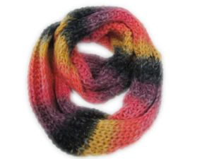 100% Acrylic Lady Knitted Warm Snood for Winter (ES-S011)