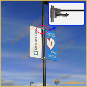 Metal Street Light Advertising Flag Device (BS-HS-035) pictures & photos