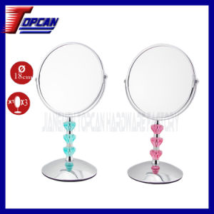 7 Inch Acrylic Double Side Makeup Mirror