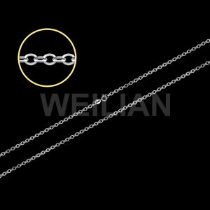 Silver Cable Chain Necklace (B8-080) pictures & photos
