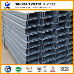 Ss400 5.8m Length Mild Steel C Lipped Channel Beam pictures & photos