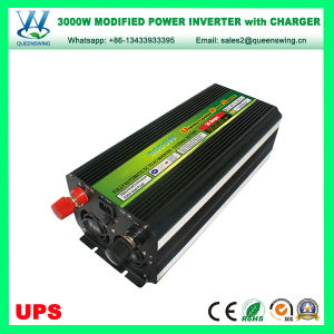 DC24V AC220/240V UPS 3000W Car Power Inverter with Charger (QW-M3000UPS) pictures & photos