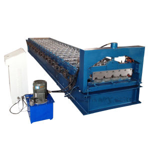 Automatic Metal Roofing Tile Roll Forming Machine pictures & photos