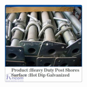 Adjustable Shoring/ Scaffolding Heavy Duty Shoring Prop/Steel Prop /Shoring Support pictures & photos