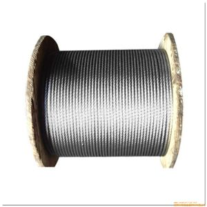 Ungalvanized and Galvanized No-Rotaing Steel Wire Rope with Many Layers pictures & photos