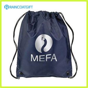 Promotional Nylon High Quality Advertising Drawstring Backpack RGB-012 pictures & photos