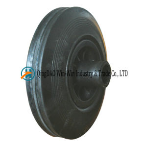 8 Inch Rubber Wheels for Garbage Bin Trash Can Ash Bin 200 X 50 Rubber Crumb Wheels pictures & photos