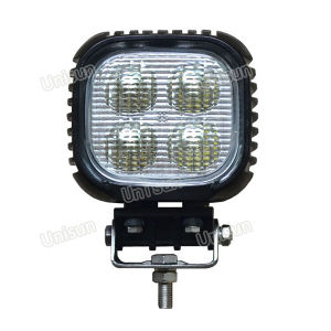 Unisun 5inch Square 12V 40W Heavy Machine LED Work Lamp pictures & photos