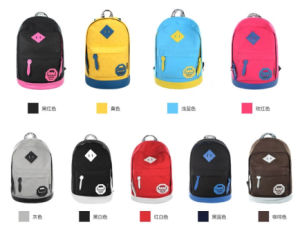Fashion Women Female Girl Day Canvas School Backpack (SBK140512W1) pictures & photos