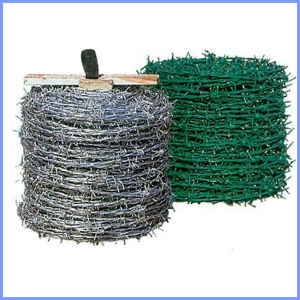 Galvanized Barbed Wire/PVC Coated Barbed Wire pictures & photos