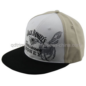 Flat Bill Print Embroidery Snapback Sport Baseball Hat (TMFL1303-2) pictures & photos
