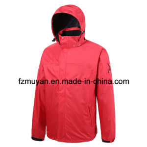 Soft Shell Hooded Waterproof Jacket