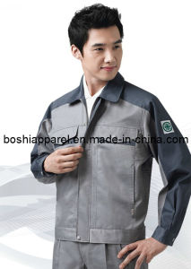Men′s Workwear Uniforms Safety Coat 2013 (LA-A166) pictures & photos