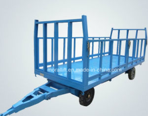 Heavy Load Flatbed Towing Trailer with Fence pictures & photos