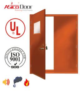 2016 UL Certification Fire Door Steel Door 3.0 Hours Fire Rating American Standard Safety Door pictures & photos