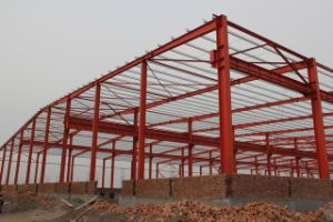 Light Steel Prefabricated Warehouse for Africa Market pictures & photos