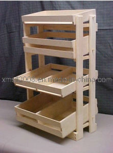 Wooden Stand Shelf for Display (GDS-047) pictures & photos