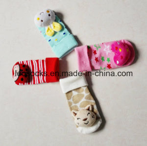 Baby Cotton Socks with 3D Animal Head pictures & photos