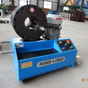 2.5 Inch Vertical Hydraulic Hose Crimping Machine (KM-91L) pictures & photos