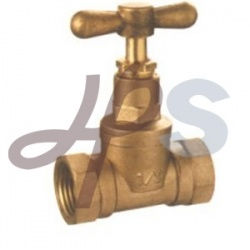 Brass Handle Brass Stop Valve (HS12) pictures & photos