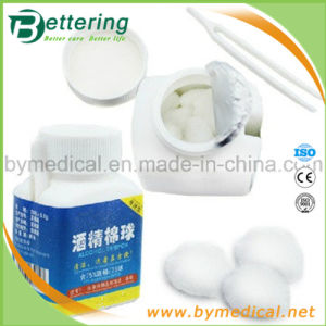 Disposable Medical Alcohol Cotton Ball pictures & photos