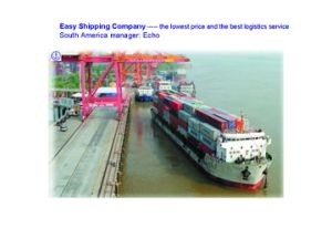 Lowest Logistics Consolidate Service From China to Suriname Shipping pictures & photos