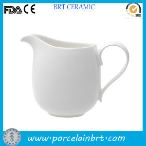 Porcelain White Water Coffee Creamer Jar pictures & photos