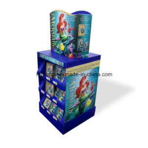 ODM Cmyk Printing Corrugated Cardboard Display Paper Display Stand pictures & photos