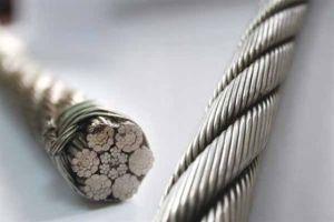 Ungalvanized and Galvanized Steel Wire Rope (6*37+iwrc) pictures & photos