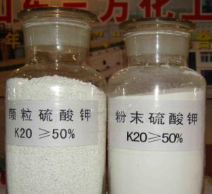 Potassium Sulphate/Potassium Sulfate (potassium sulfate (k2so4) for Fertilizer/Industrial pictures & photos