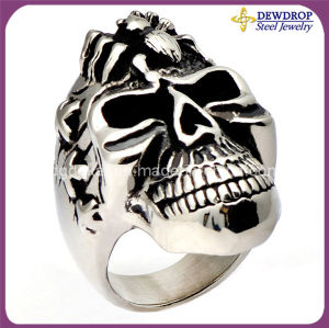 Fashion Stainless Steel Ring Skull Ring for Men