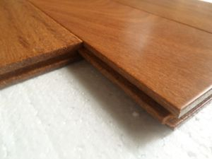 Guangzhou Termite Proof Cumaru Brazilian Teak Parquet Wood Flooring pictures & photos