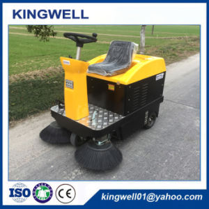 Battery Power Electric Road Sweeper for Sale (KW-1050) pictures & photos