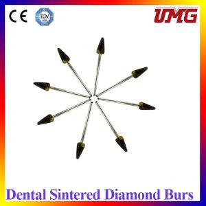 Sharp Dental Diamond Burs Blacks, Dental Burnisher pictures & photos