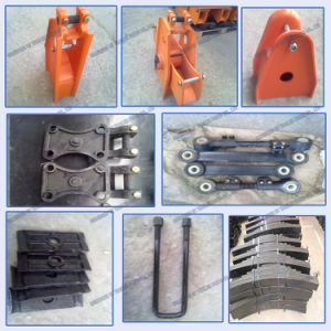 Fuwa Type Mechanical Suspension Four Axle Overlung / Underslung with Leaf Spring pictures & photos