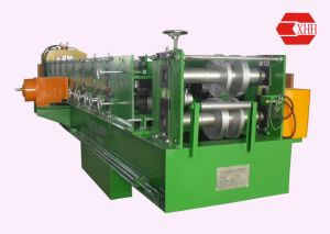 Z Purlin Machine with Pre-Punching and Pre-Cutting Purline Roll Forming Machine pictures & photos