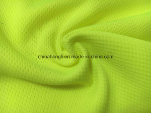Mesh 100%Poly, 165 GSM, Single Jersey Knitting Fabric with Quick Dry and Blazer Color for Sportswear pictures & photos