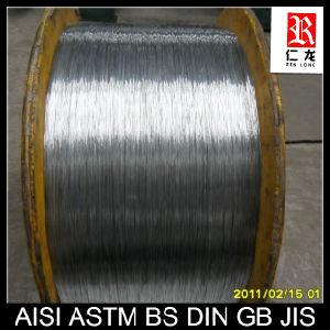 China Supplier Galvanized Steel Wire (ASTM JIC BS GB DIN)