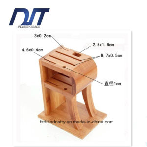 Eco-Friendly Hand-Made R Shape Bamboo Knife Frame pictures & photos