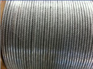 7*7 Hot Dipped Galvanized Steel Wire Rope pictures & photos