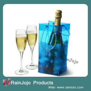Customized One Bottle PVC Wine Bag pictures & photos