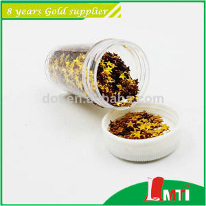 "High Quality 1/24"" Colors Glitter Powder Hexagon pictures & photos"