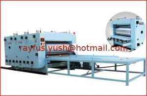 Chain Feeding Flexo Printer Machine for Corrugated Cardboard pictures & photos