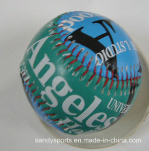 Kids Like PVC Leather Cork Core Baseball Softball pictures & photos