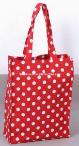 Hot Sale Waterproof PVC Dotty Cotton Shopping Bag