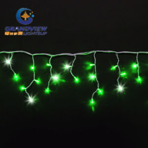 280 LED Green Color 60 Drops Icicle Curtain (L4, 5mxH20/40/80cm) pictures & photos