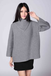 Ladies′ Fashion100% Cashmere Knitwear (1500008075) pictures & photos